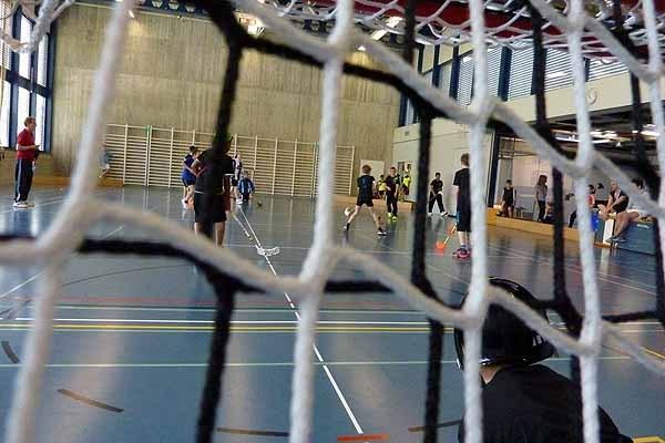 Unihockeyturnier Mittelstufe