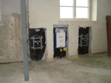 sanitäre Anlagen im UG