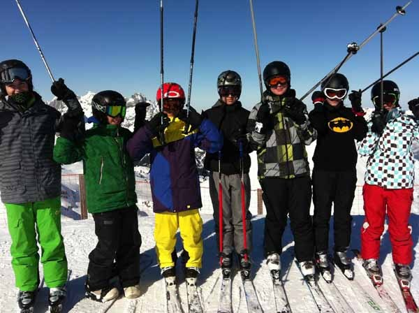 Schneesportlager Sekundarstufe