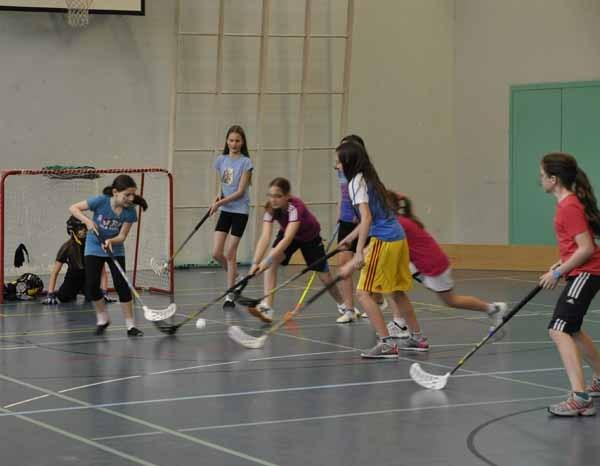 Unihockey-Turnier Mittelstufe